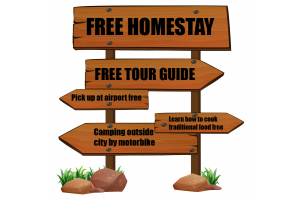 Free Homestay & Local Experience with Students in Ho Chi Minh