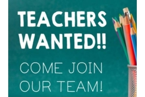 English Teachers needed
